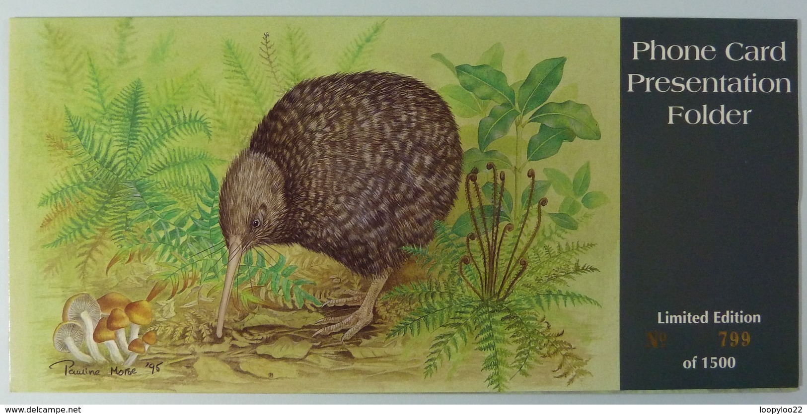 New Zealand - GPT - Little Spotted Kiwi - Airways Florist - $10 - 1500ex - Mint In Folder - New Zealand