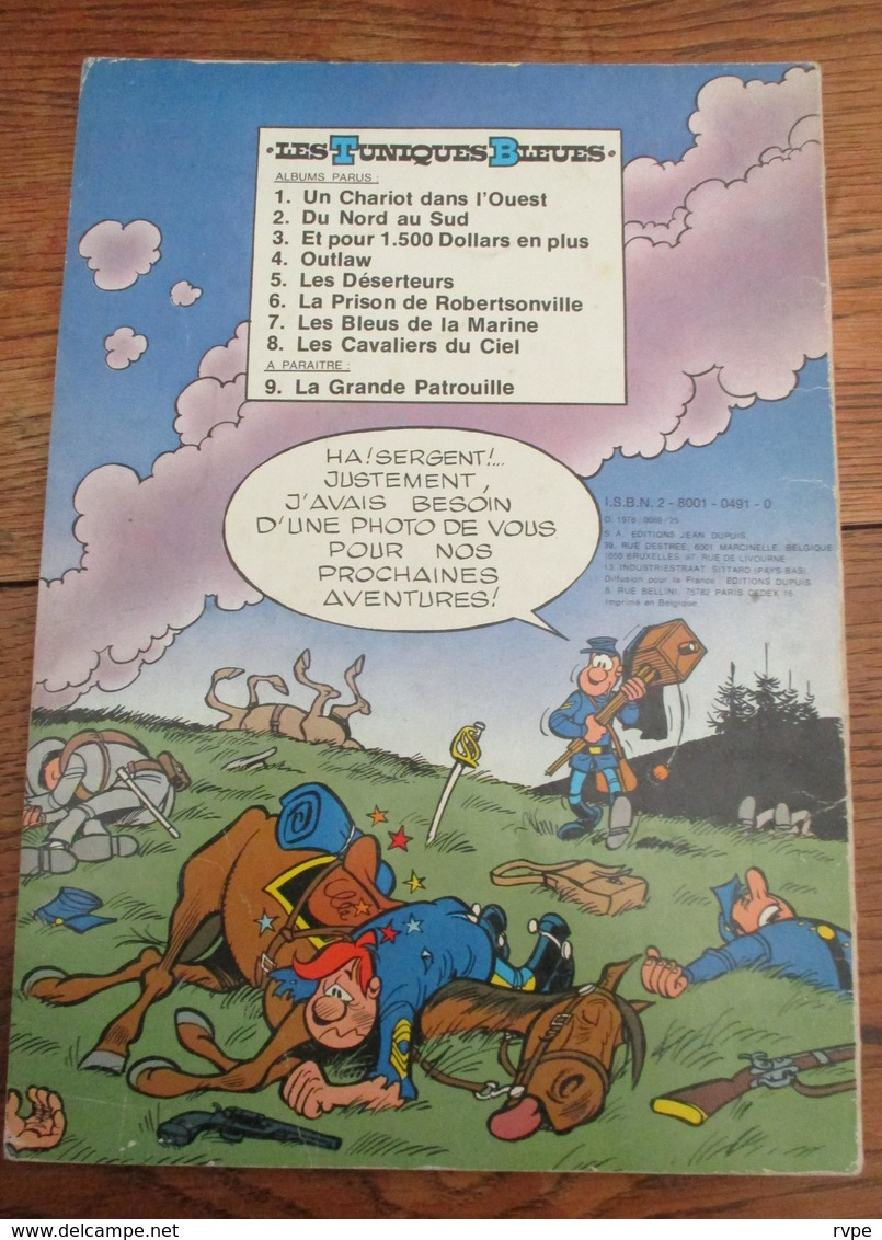 LES TUNIQUES BLEUES N° 8 DE 1976 - Tuniques Bleues, Les