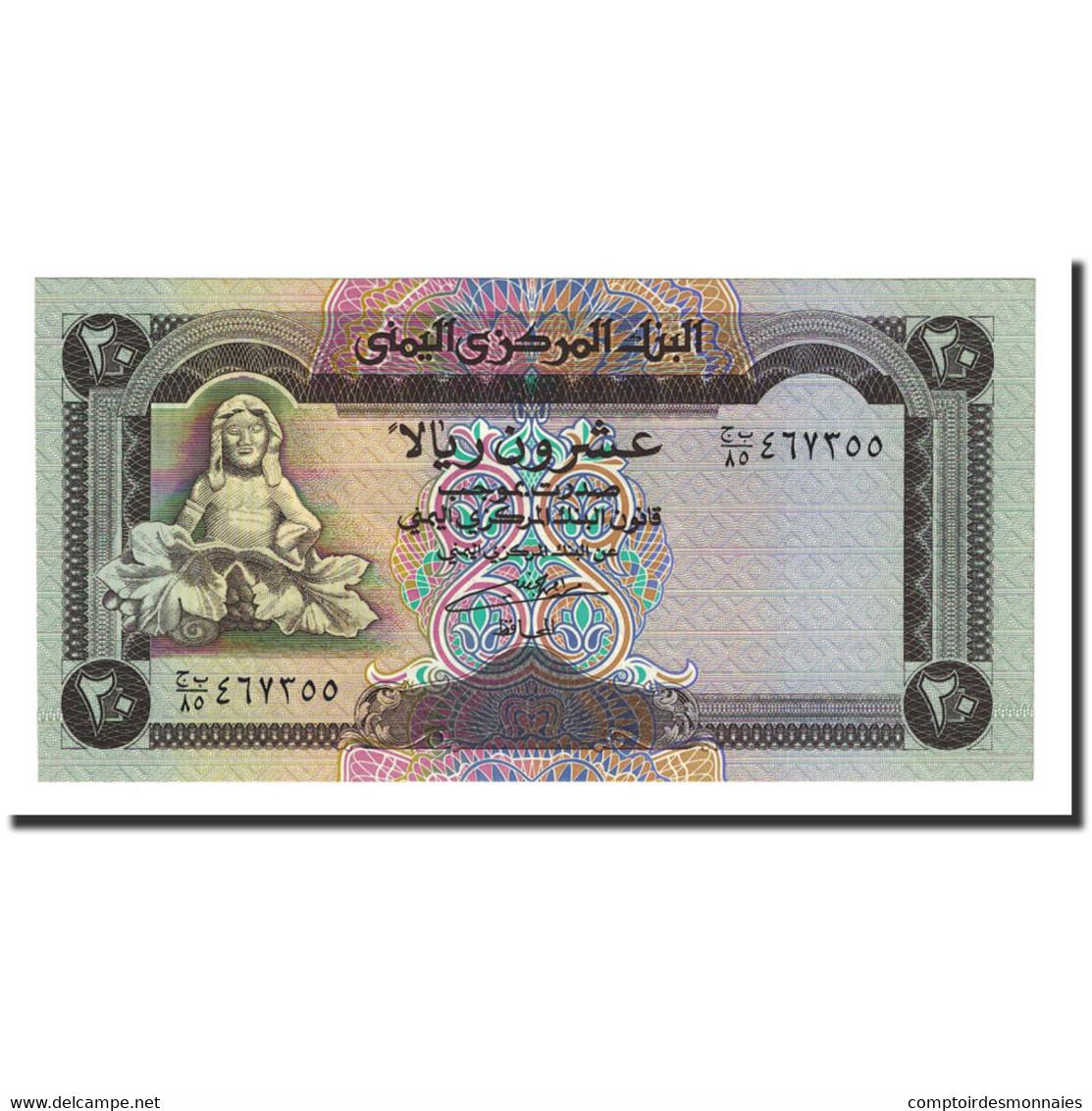 Billet, Yemen Arab Republic, 20 Rials, Undated (1995), KM:25, NEUF - Yémen