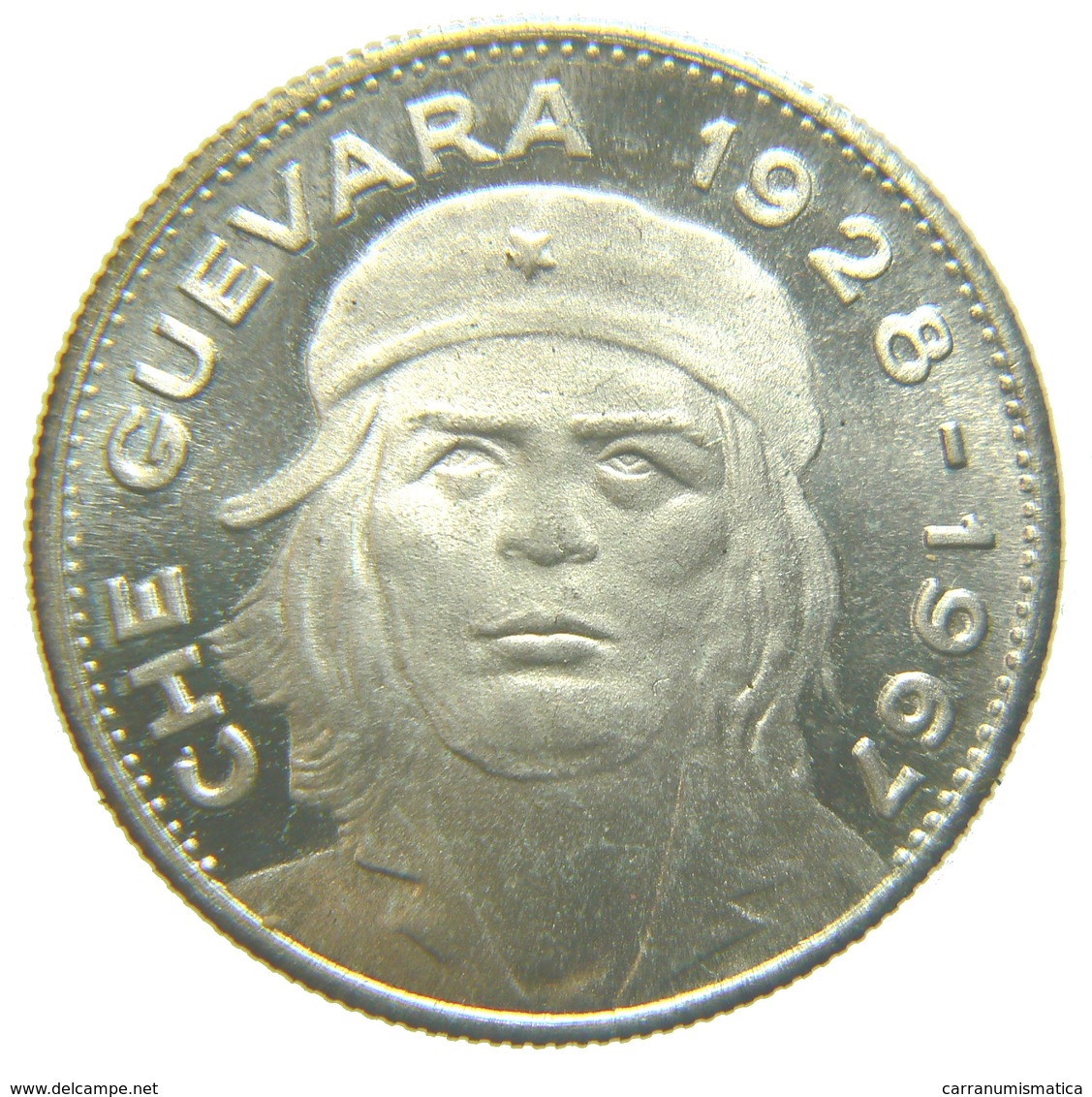 [NC] MEDAGLIA CHE GUEVARA 35 MM - METALLO BIANCO (nc3662) - Cuba