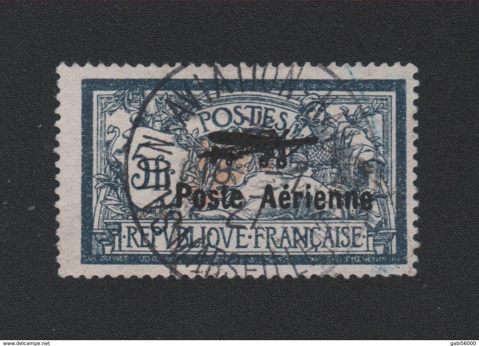 Faux Poste Aérienne N° 2, 5 F Merson Obitération Du Salon Expo - 1927-1959 Gebraucht