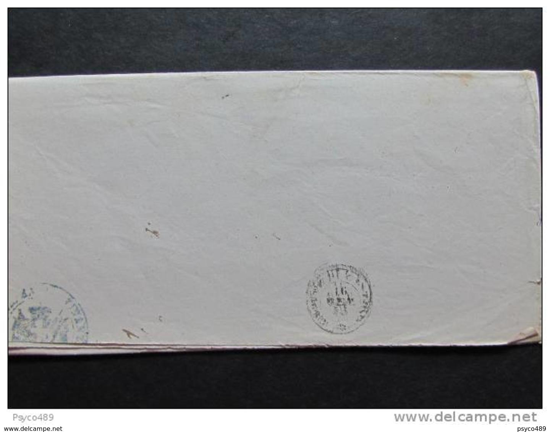 """760 ITALIA Regno-primo Mese D'uso""""Servizio Di Stato"""" C. 0,02 Coppia ROMA>GROTTE Di CASTRO (descrizione) - 1861-78 Vittorio Emanuele II"""