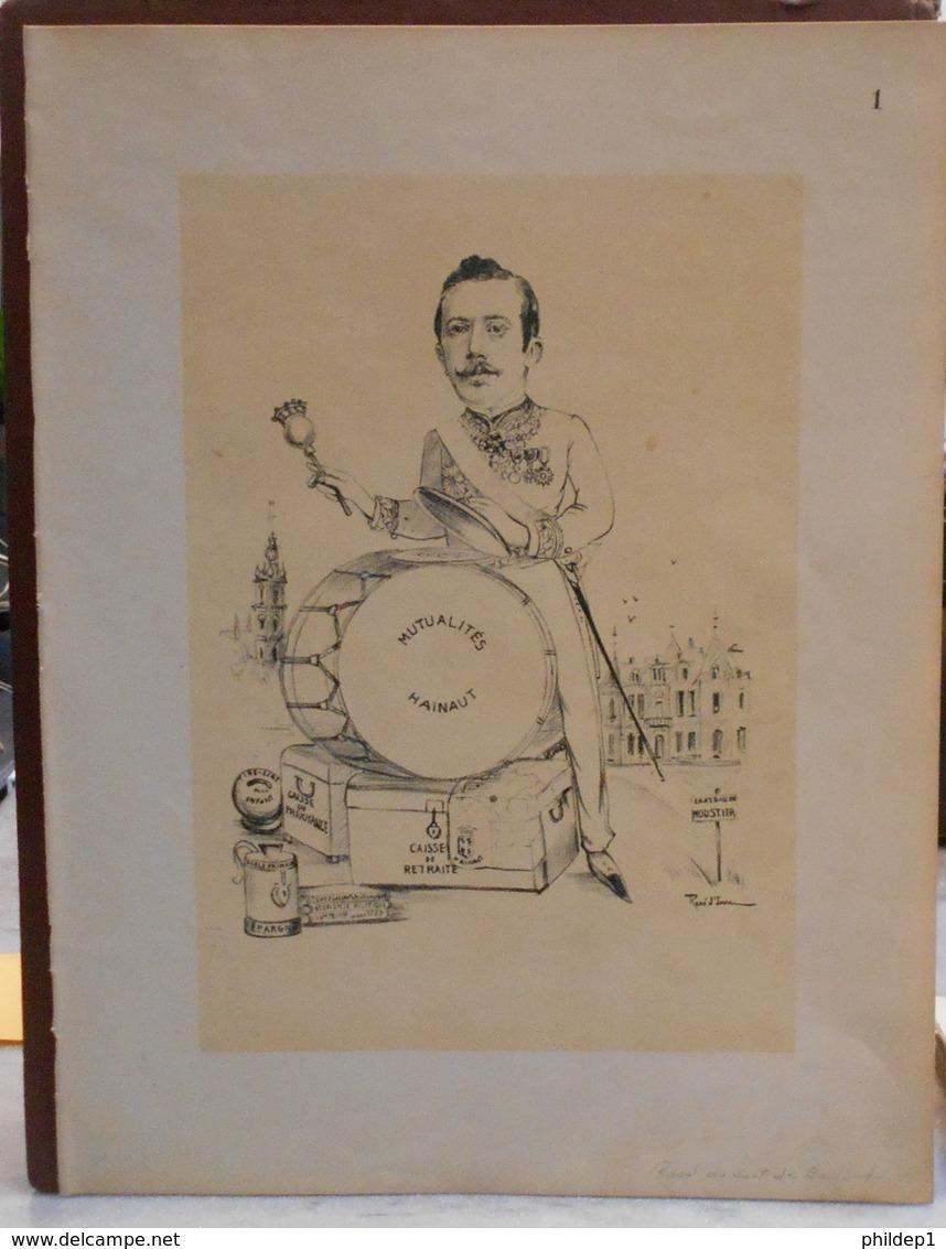 """Mons. Superbe Caricature De """"Raoul Du Sart De Bouland"""" Par René D'Inn. Publiée En 1909 - Culture"""
