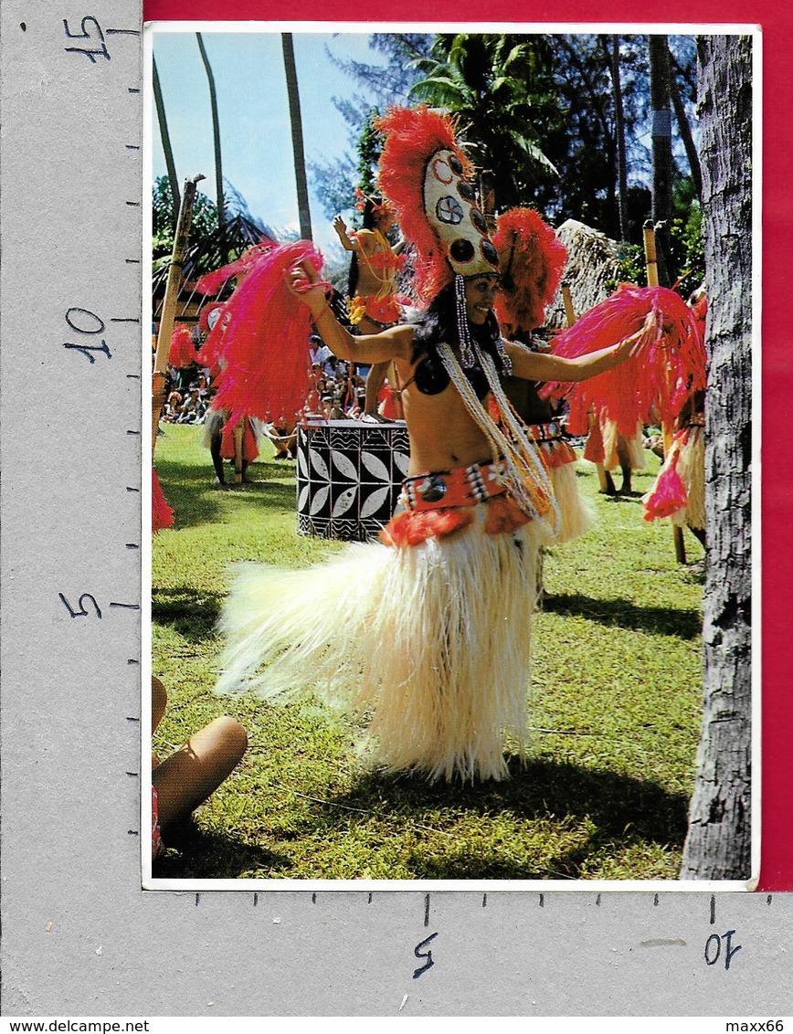 CARTOLINA VG POLINESIA FRANCESE - Danzatrice - OTEA TAHITI - 10 X 15 - ANN. 1984 AFAREAITU MOOREA - Polinesia Francese