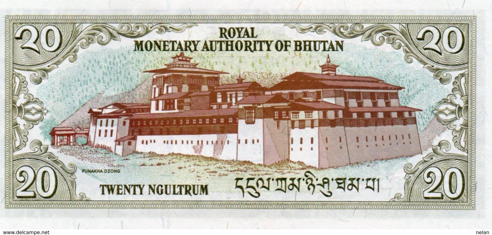 BHUTAN 20 NGULTRUM 2000 P-23 UNC - Bhoutan
