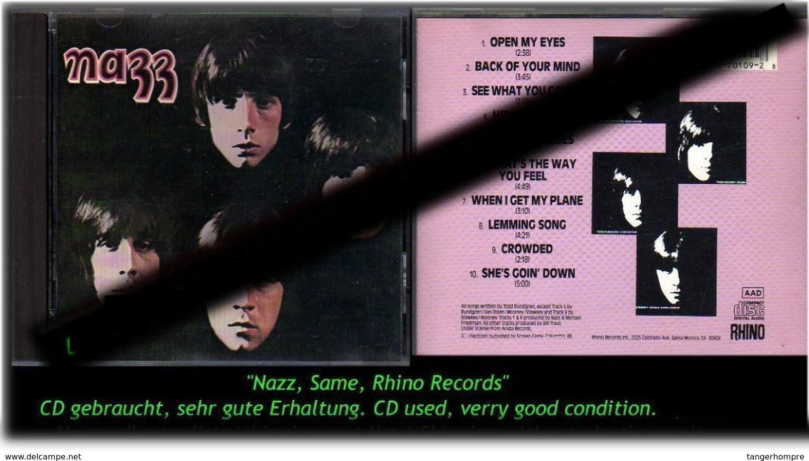 """""""NAZZ"""" SAME - Hard Rock & Metal"""