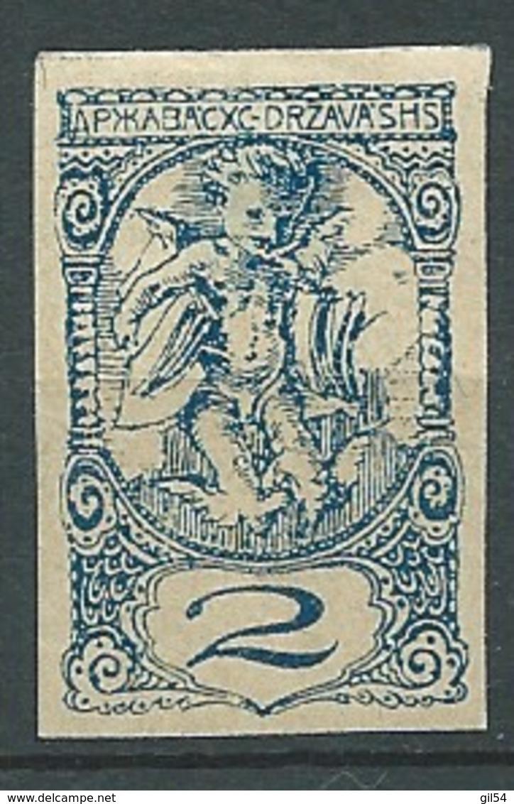 Yougoslavie - Journaux - Yvert N° 10 *    - Bce 15439 - Dagbladzegels