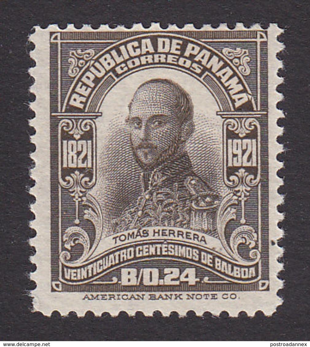 Panama, Scott #230, Mint Hinged, Herrera, Issued 1921 - Panama