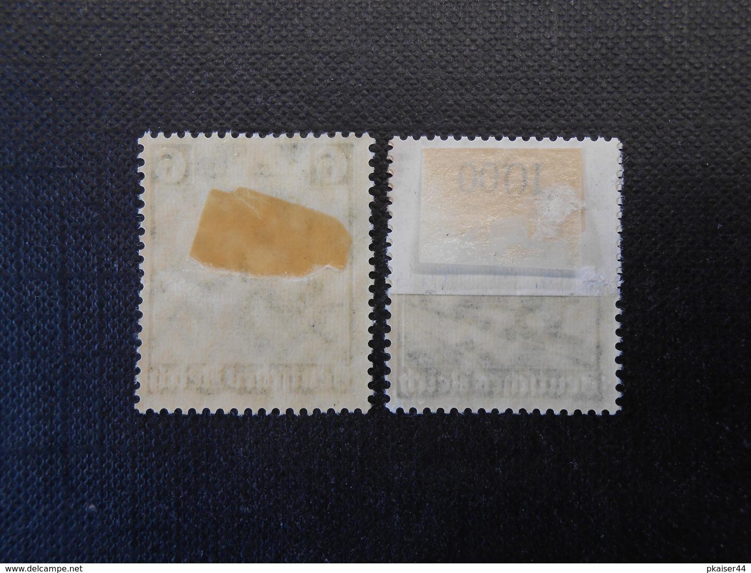 D.R.Mi 580/582 - 6/25Pf*MLH - 1935 - Mi 9,50 € - Germany