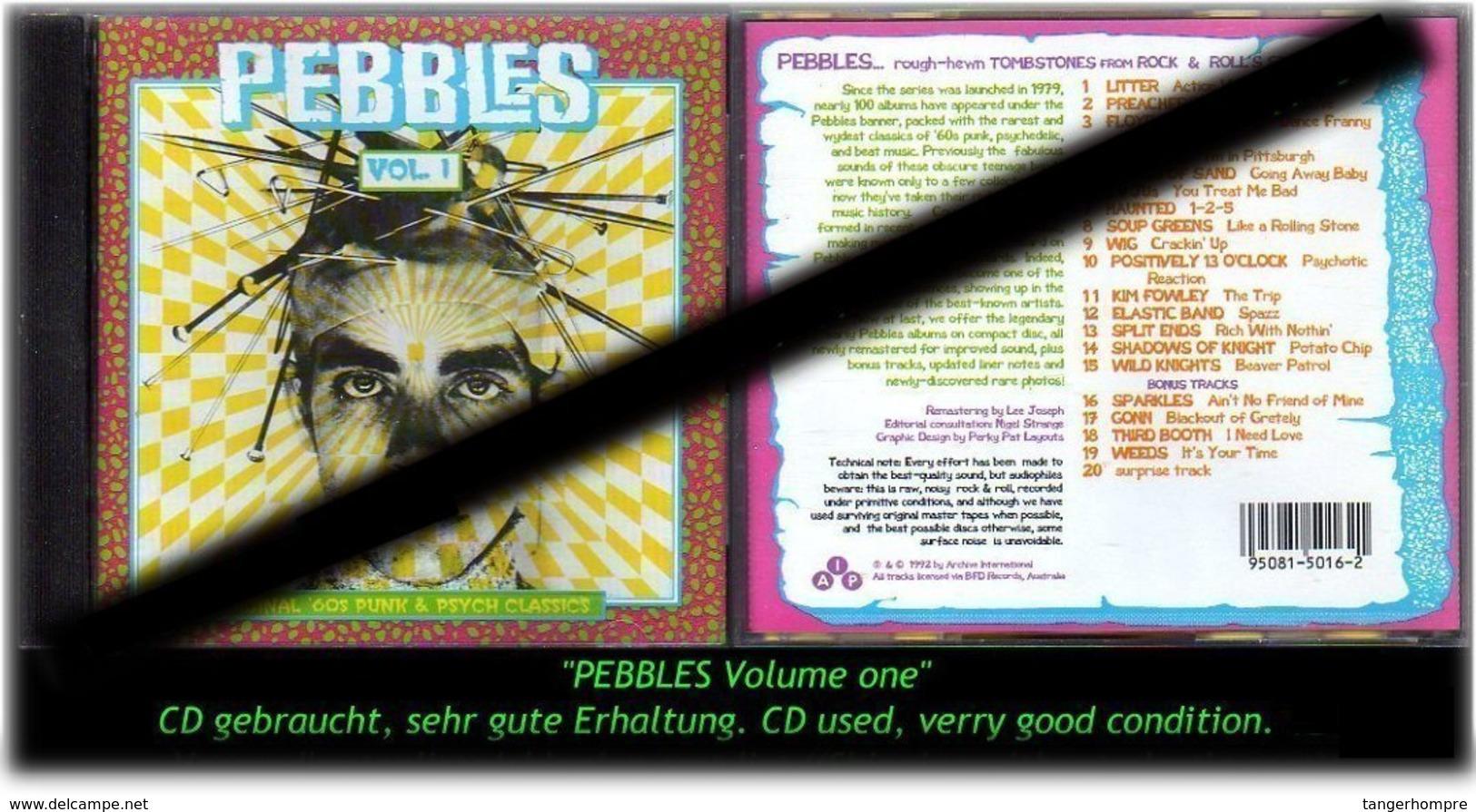 """PEBBLES"" VOLUME ONE -1992- - Hard Rock & Metal"