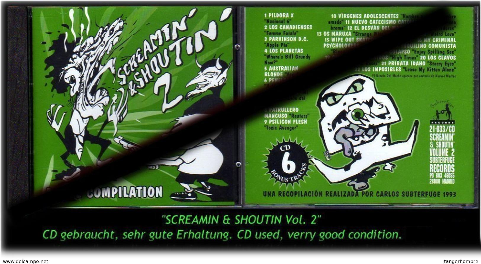 """SREAMIN & SHOUTIN"" VOL 2 -1993- - Hard Rock & Metal"
