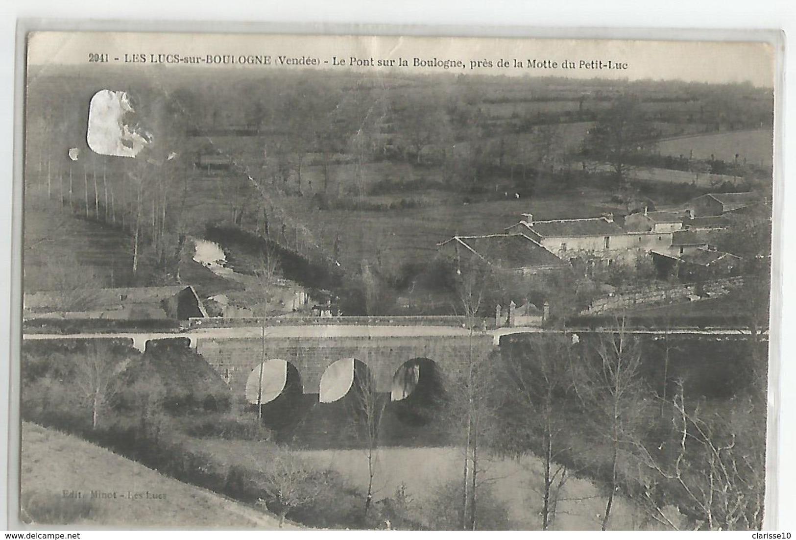 85 Les Lucs Sur Boulogne Le Pont Sur La Boulogne - Les Lucs Sur Boulogne