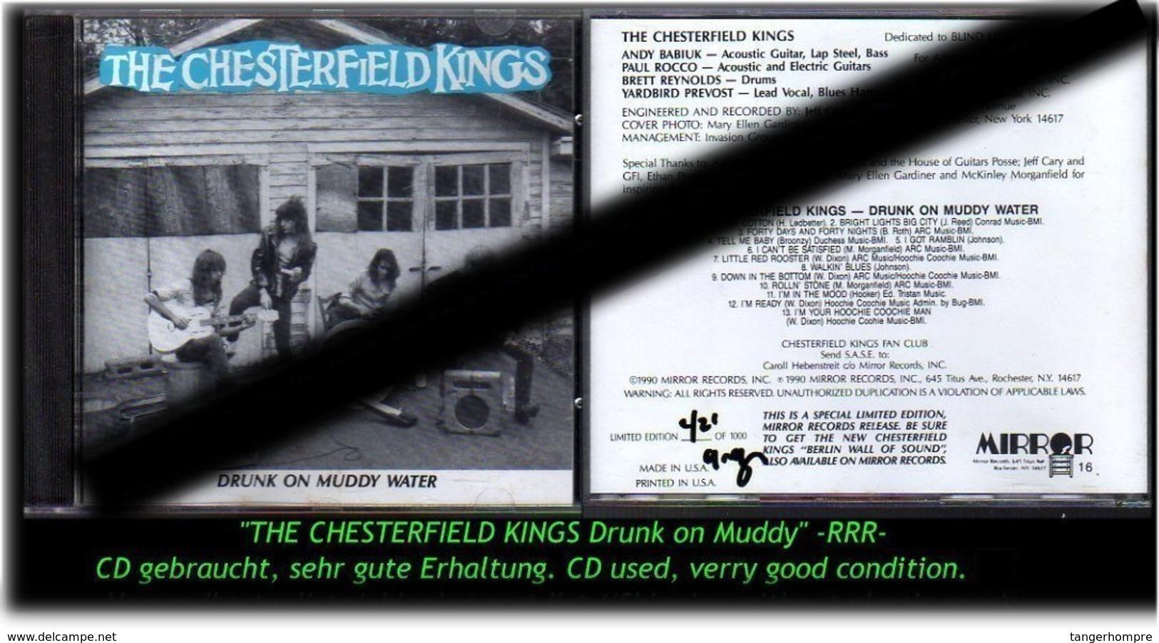 """THE CESTERFILD KINGS"" DRUNK ON MUDDY -1990-  -RRR- - Hard Rock & Metal"