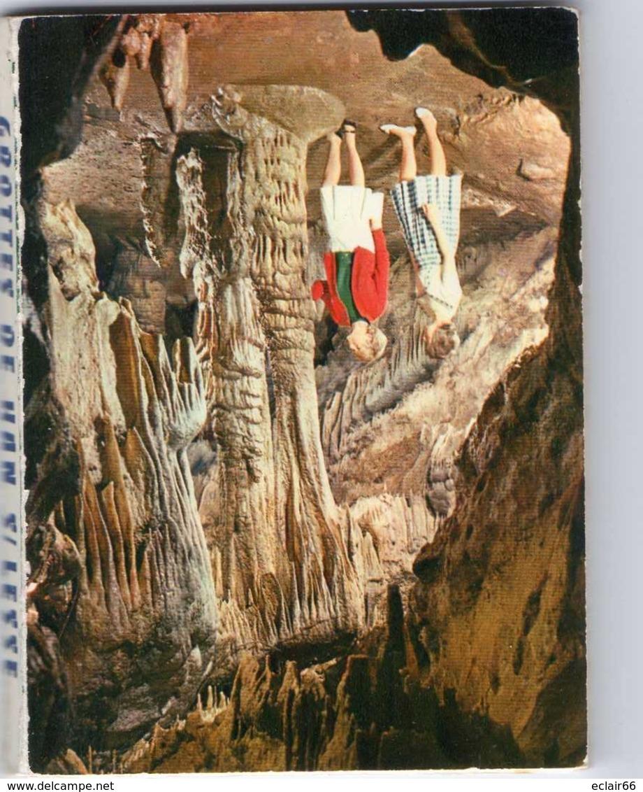 Han Sur Lesse 10 Photos Dépliants  Les Grottes De EDIT THILL  Bruxelles SERIE 1    9cmX7,50cm - Belgique