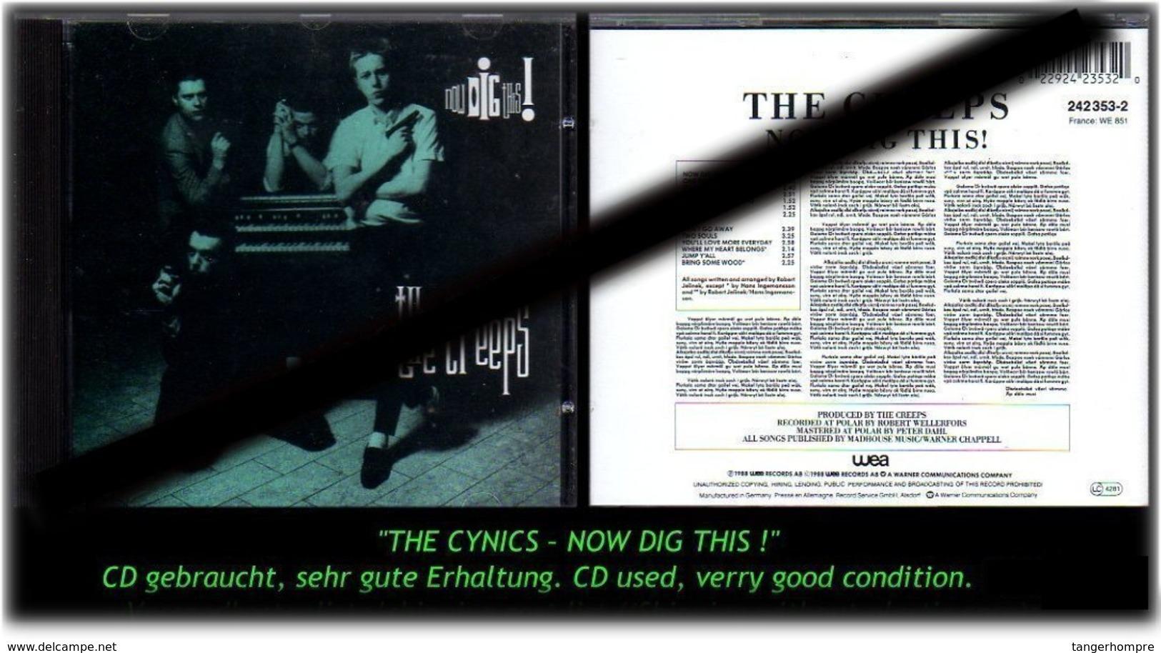 """THE CYNICS"" NOW DIG THIS ! - Hard Rock & Metal"