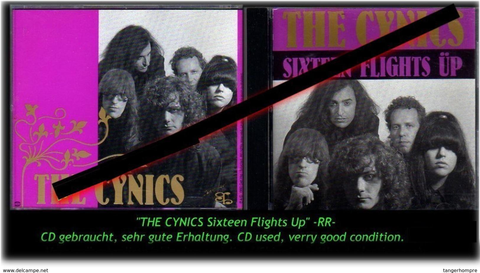 """THE CYNICS"" SIXTEEN FLIGHTS UP -RR- - Hard Rock & Metal"