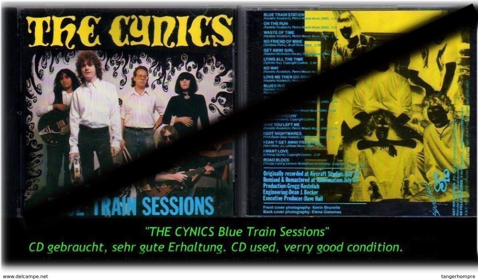 """THE CYNICS"" BLUE TRAIN SESSION - Hard Rock & Metal"