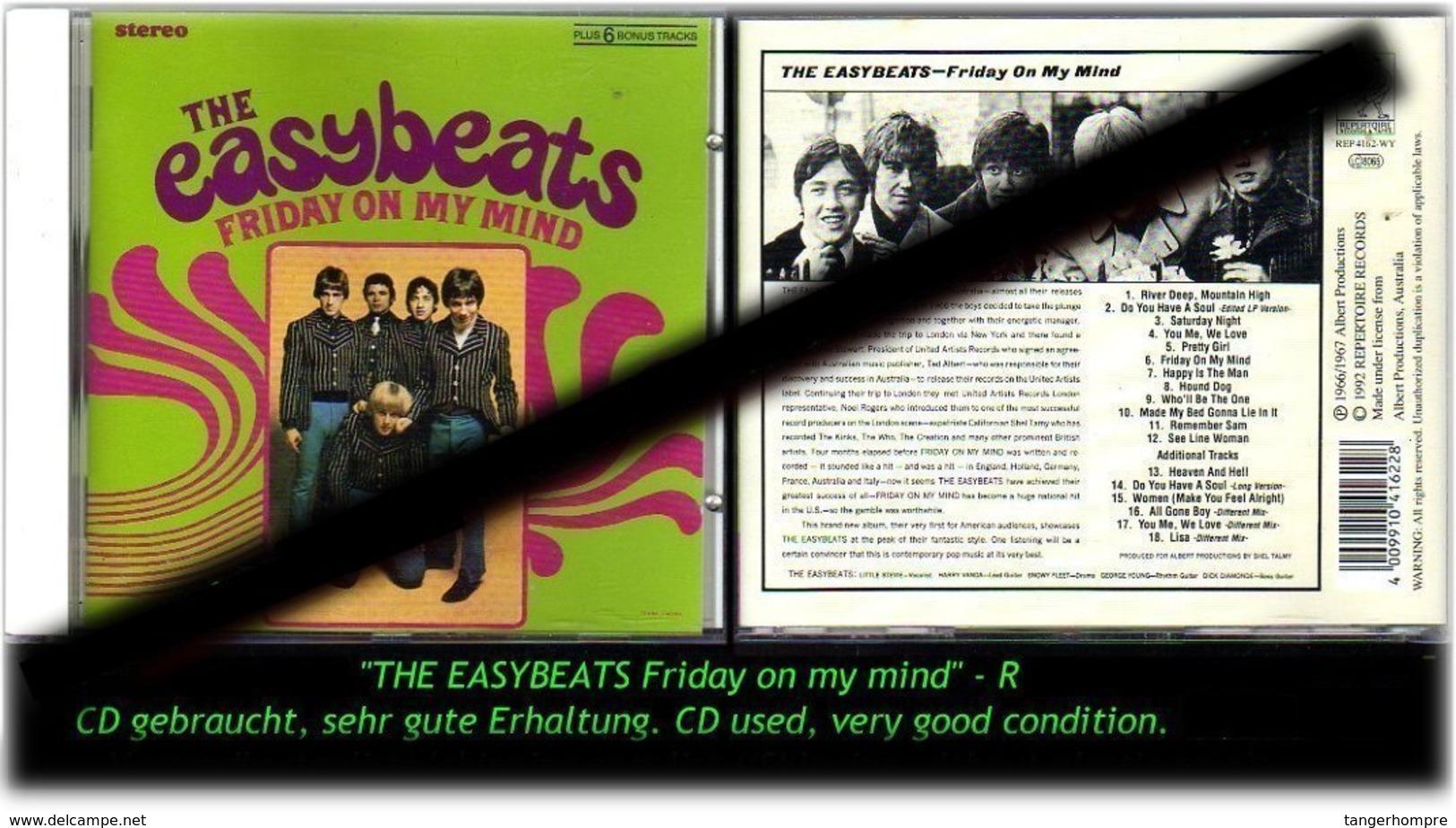 """THE ESAYBEATS"" FRIDAY ON MY MIND -R- - Hard Rock & Metal"