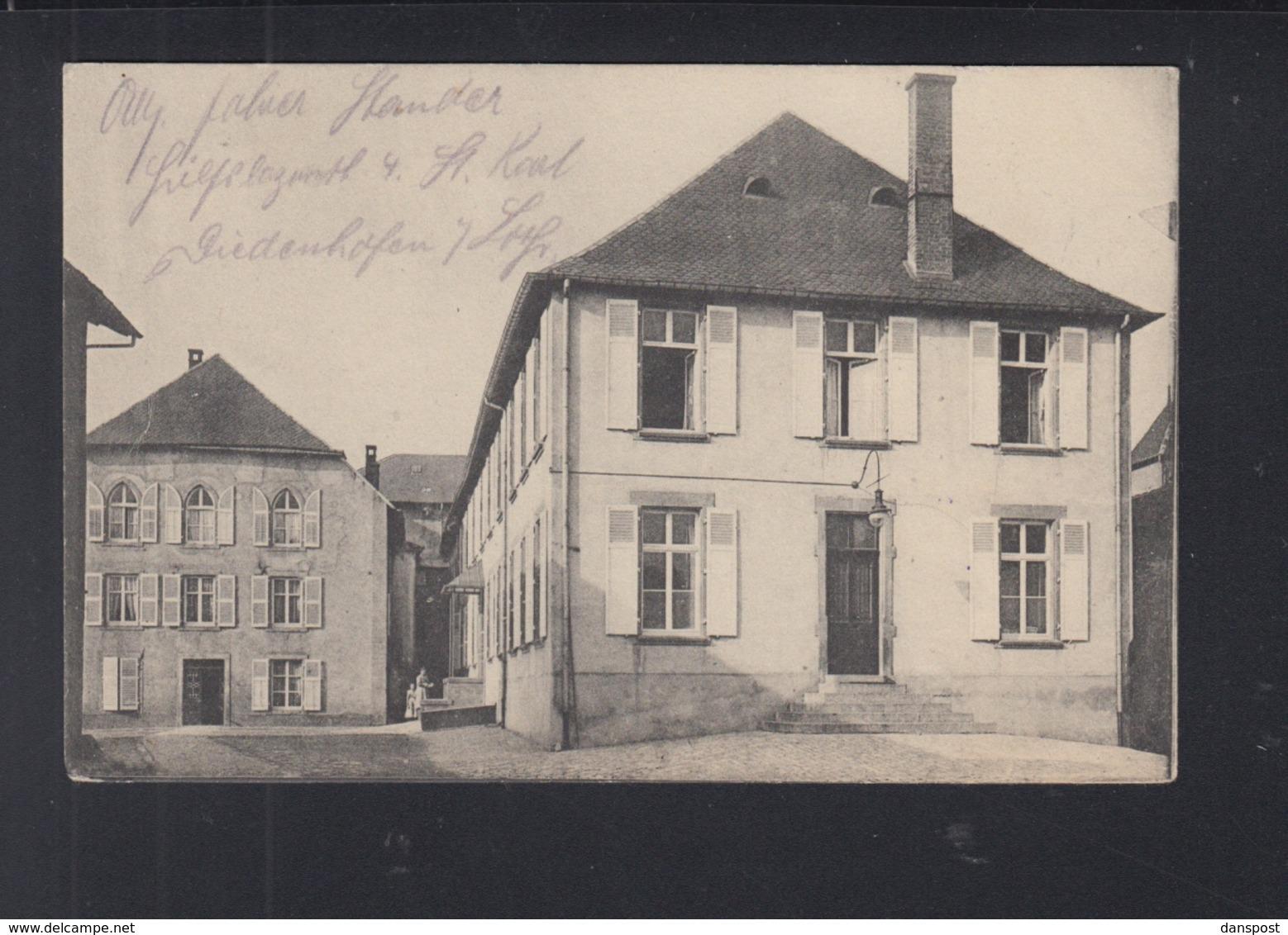 Carte Postale Diedenhofen - Thionville