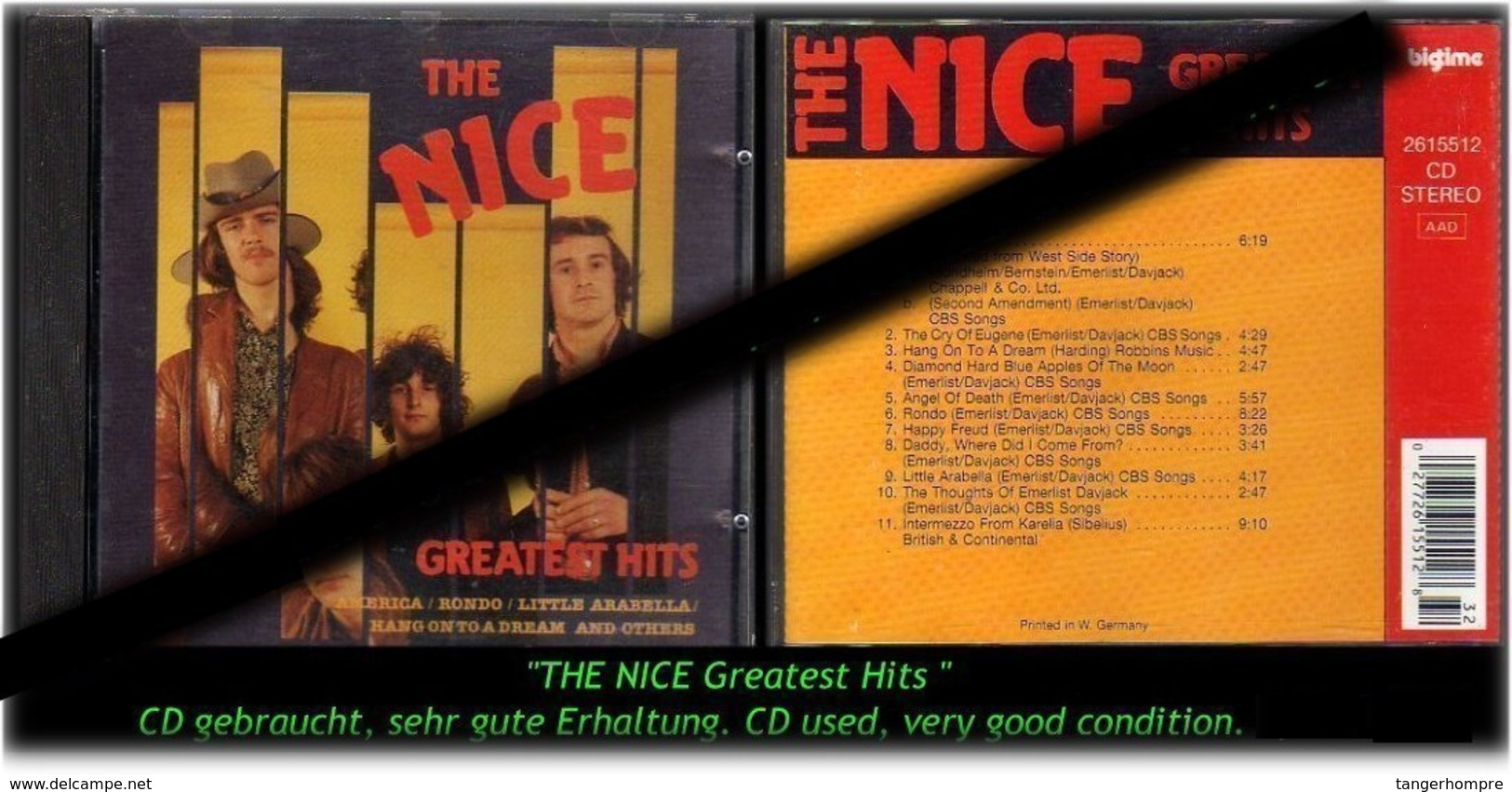 """THE NICE GREATES HITS"" $ 100 FINE -1990- - Hard Rock & Metal"