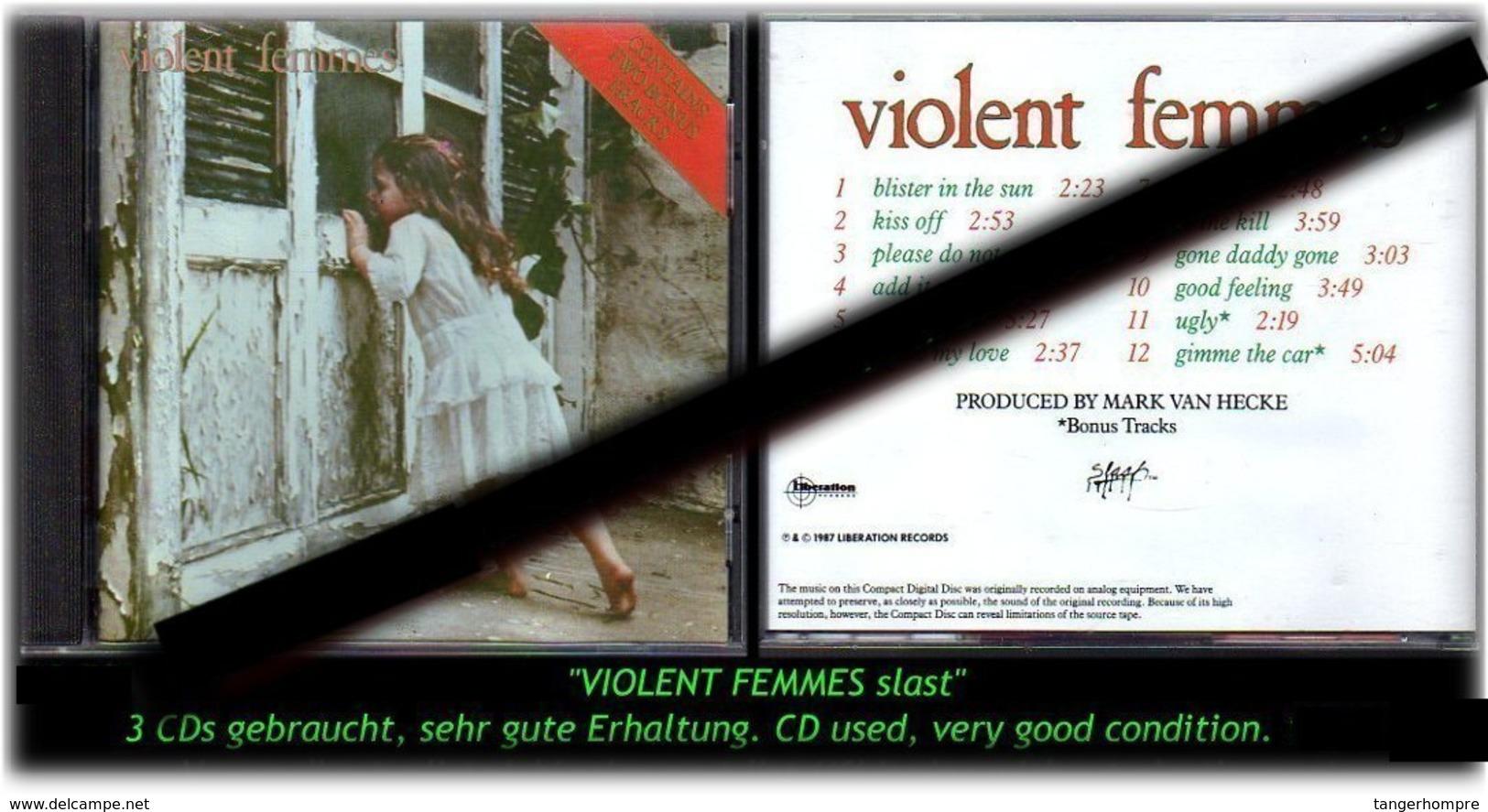"""""""VIOLENT FEMMES"""" STAST-1987- -R- - Hard Rock & Metal"""
