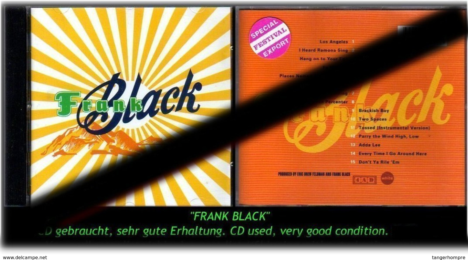 """FRANK BLACK"" ""2""  3 CDS  -RR- - Hard Rock & Metal"