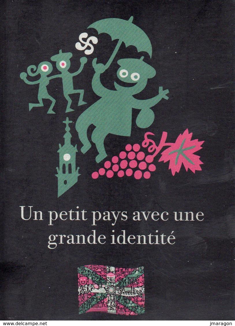 PAYS BASQUE - PUBLICITE - Euskadi - Paysbasquetourisme.net - Un Petit Pays Avec Une Grande Identité - Rare - Tbe - Publicité
