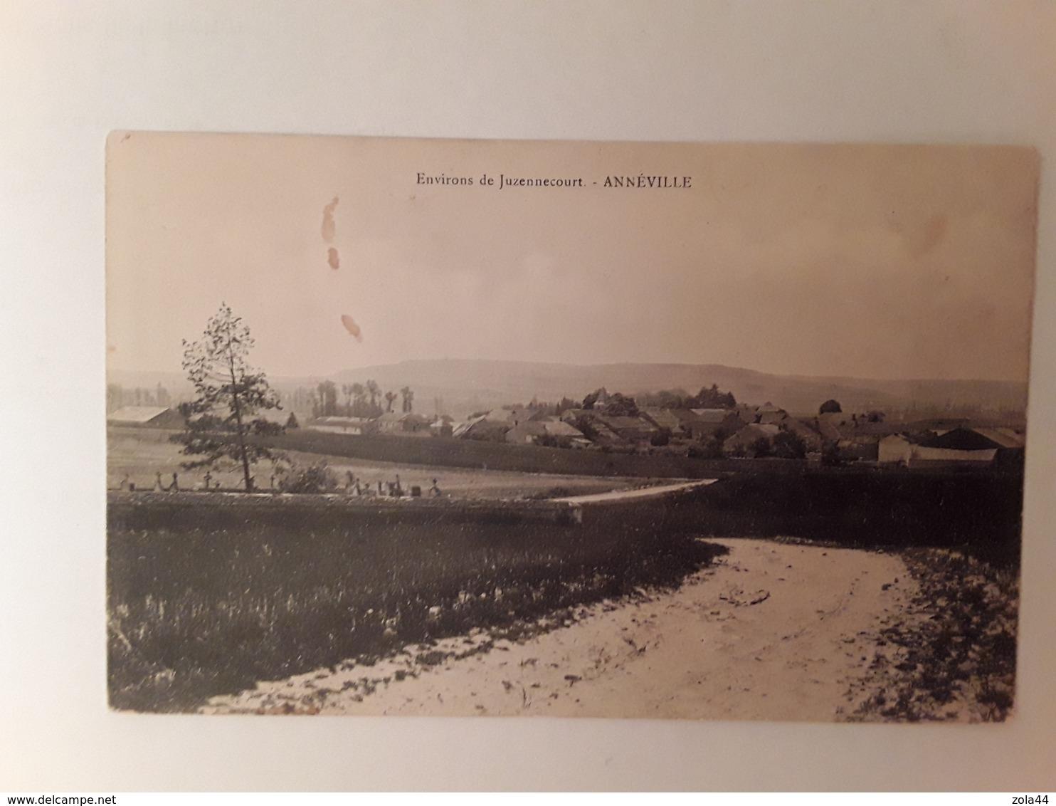 Anneville  Environs De Juzennecourt - France