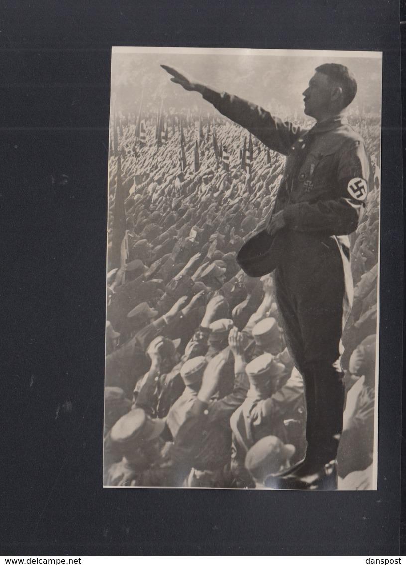 Dt. Reich AK Hitler Verkürzt - Personaggi Storici