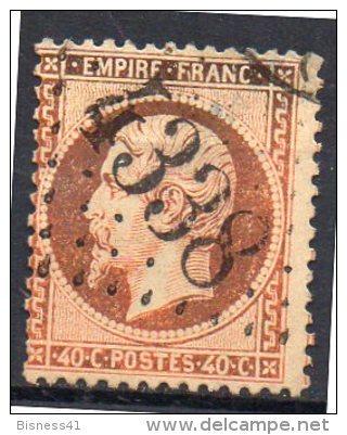 France  N° 23 Oblitéré GC 4338  Départ à  4,00 Euros !! - 1862 Napoleon III