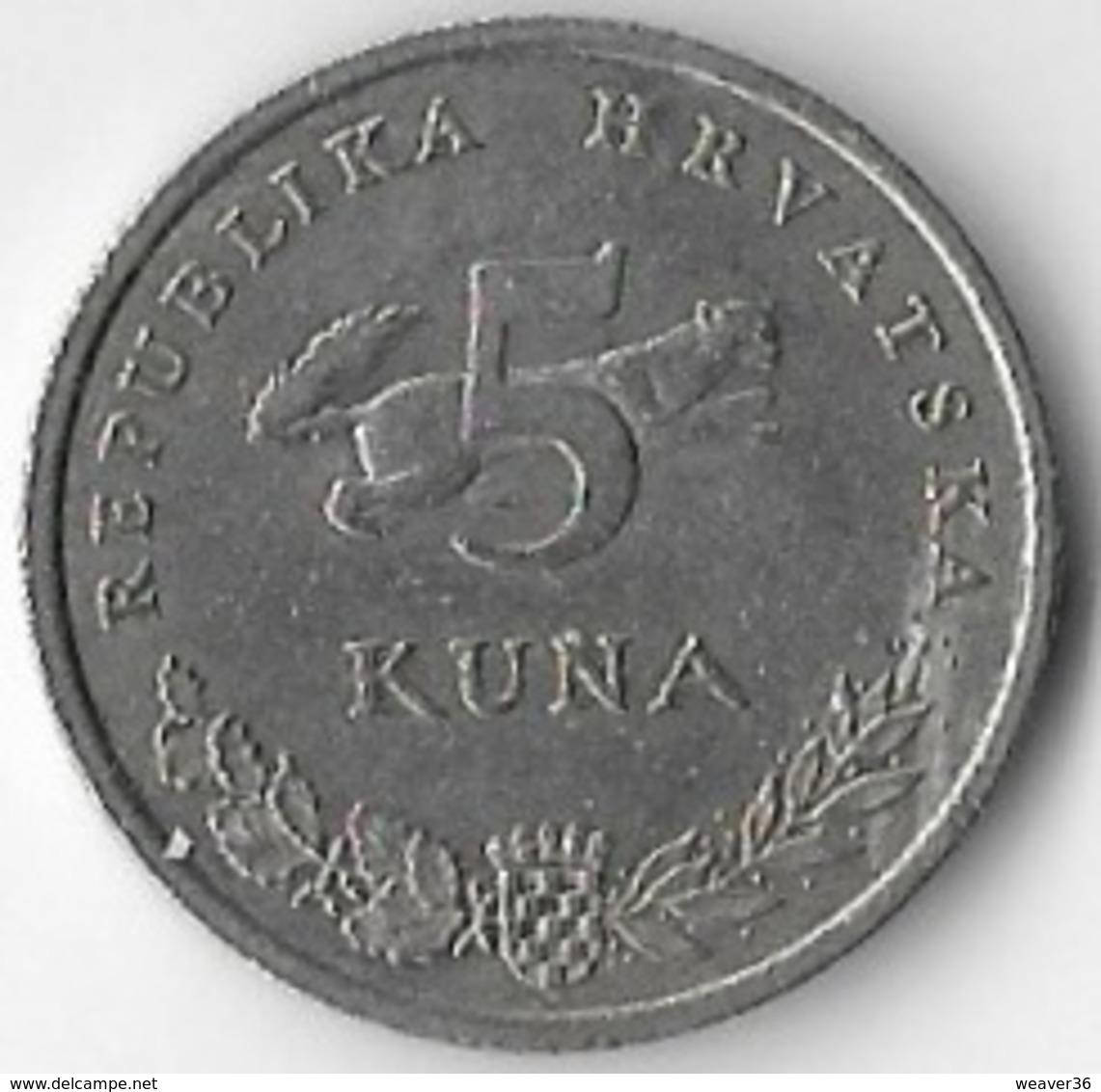 Croatia 1999 5 Kuna [C749/2D] - Croatia