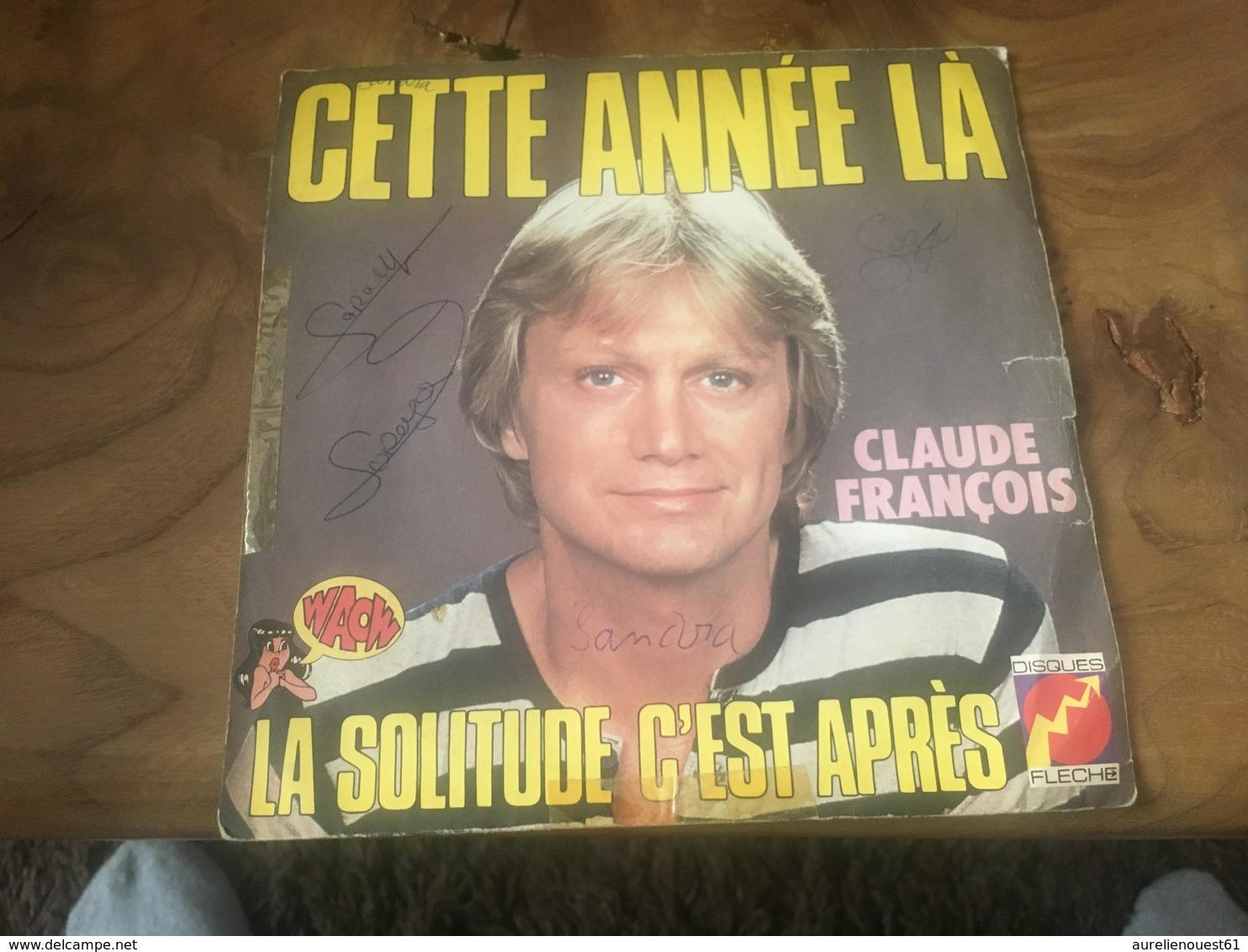 166/ CLAUDE FRANCOIS CETTE ANNEE LA - Reggae
