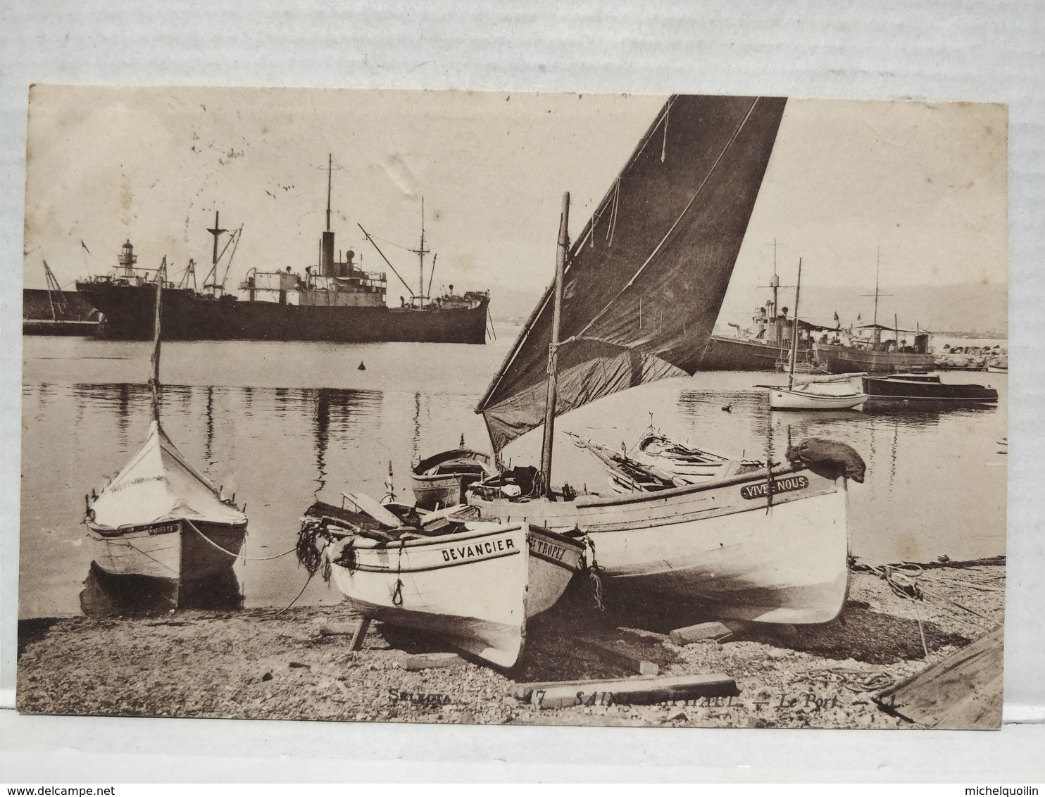 Saint-Raphaël. Le Port - Saint-Raphaël