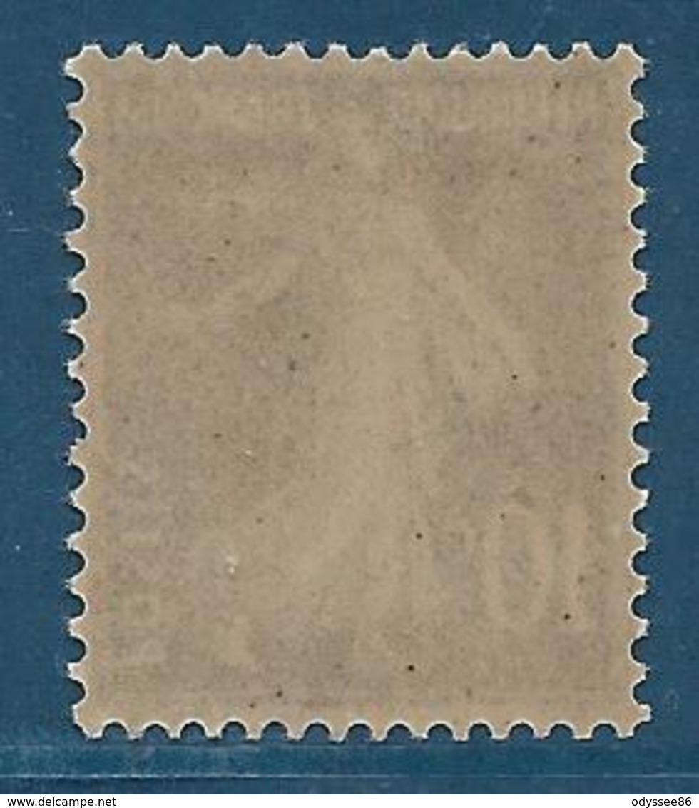 FRANCE 1921-22 - Y.T. N°159 - 10 C. Vert Foncé - Type Semeuse Fond Plein - Neuf** - TTB Etat - 1906-38 Sower - Cameo