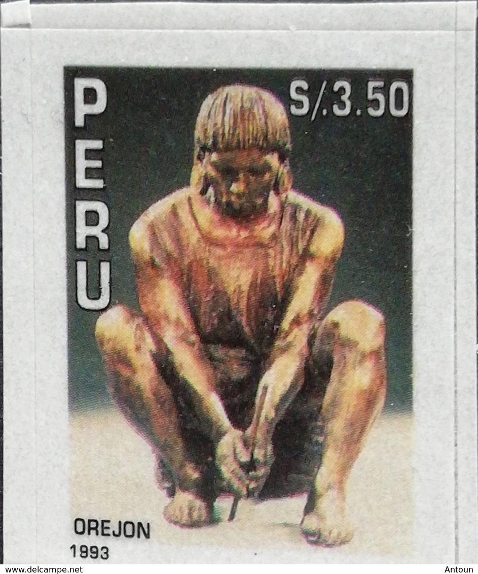 Peru 1993 Sculptures Depicting Peruvian Ethnic Groups Scott 1057 - Peru