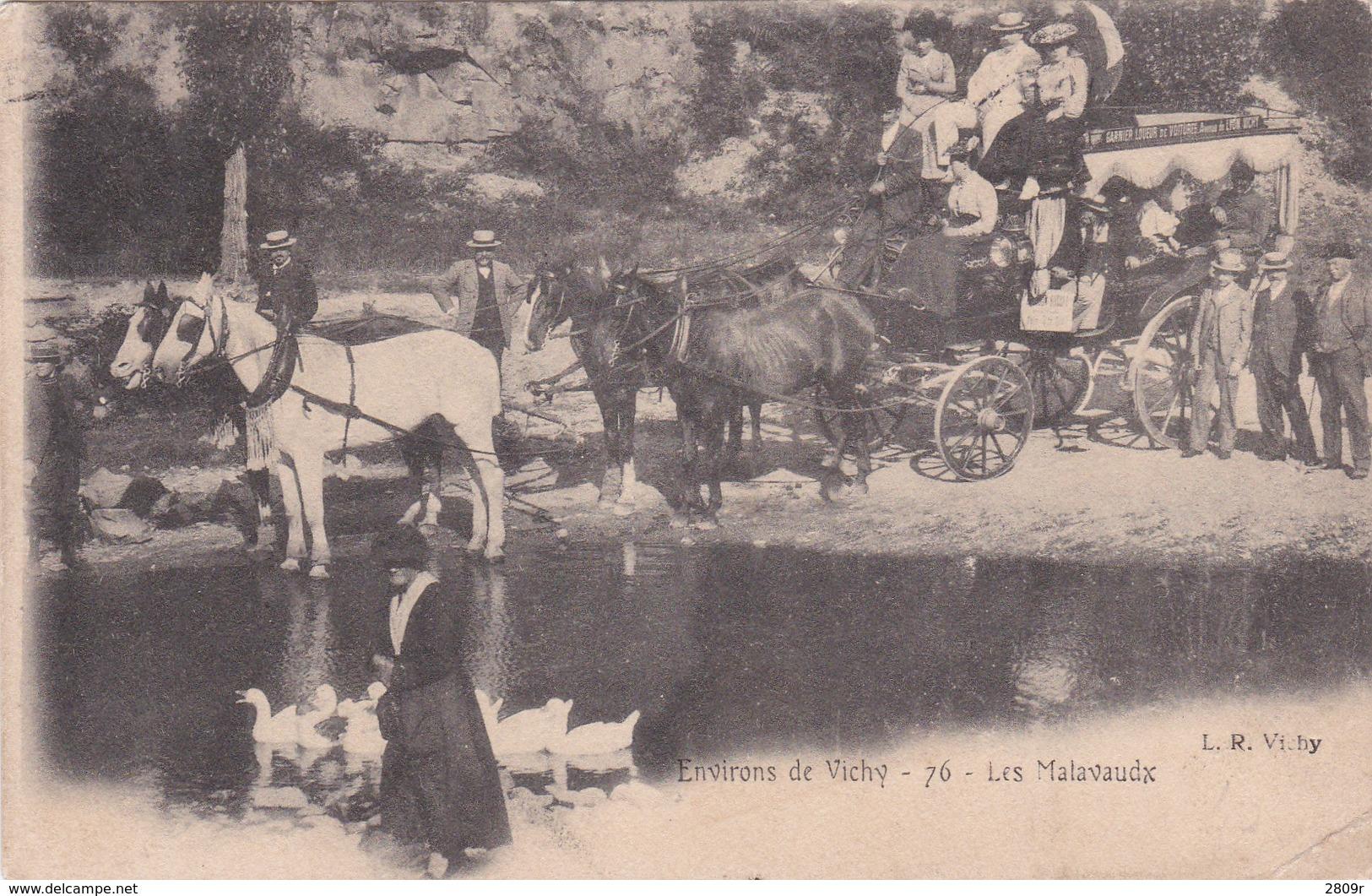 La Dilligence A Malavaux - Vichy