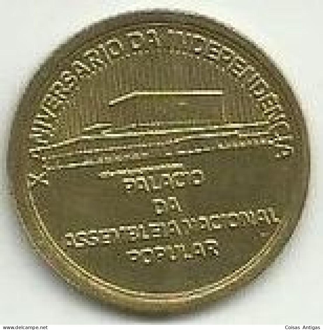 1 Escudo 1985 X Anv. Independencia Cabo Verde - Cap Vert