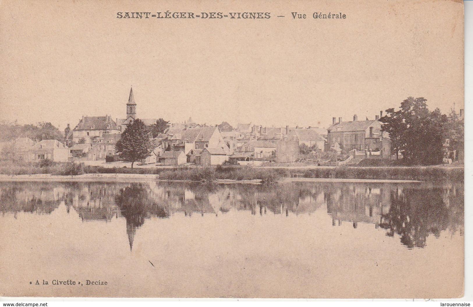 58 - SAINT LEGER DES VIGNES - Vue Générale - France