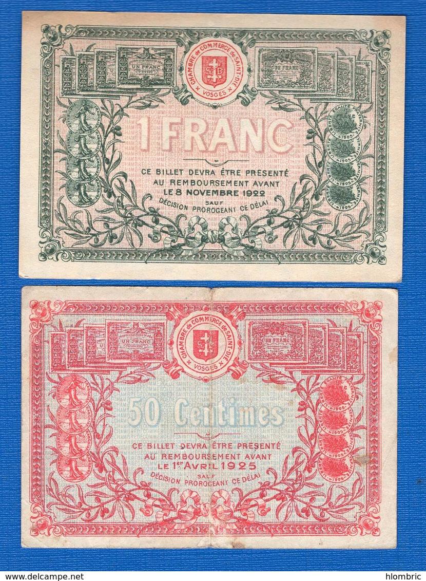 St  Die  88   2  Billets - Chambre De Commerce