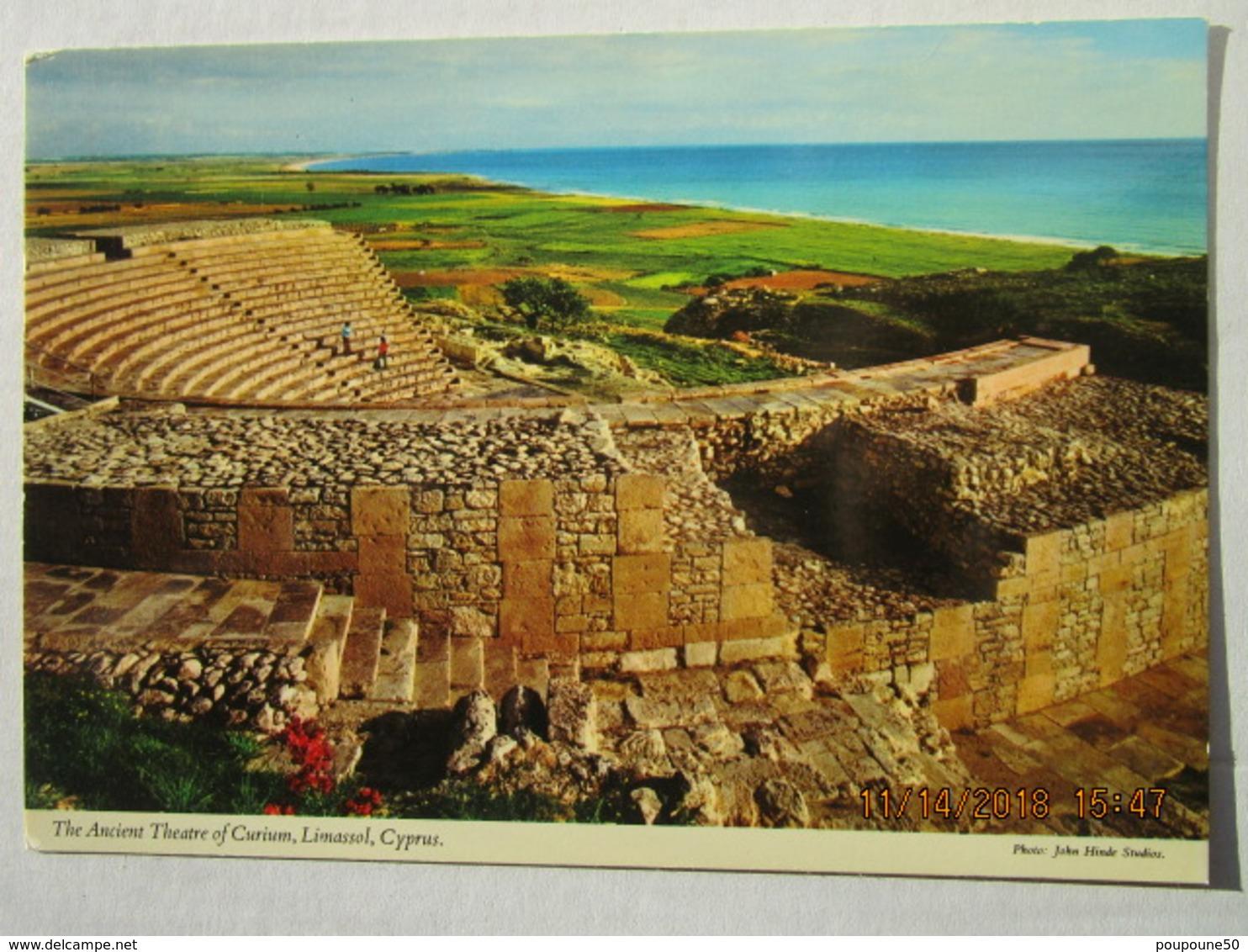 CP Chypre  Cyprus  -  LIMASSOL  - The Ancient Théâtre Of Curium  - Le Théâtre Antique - Chypre