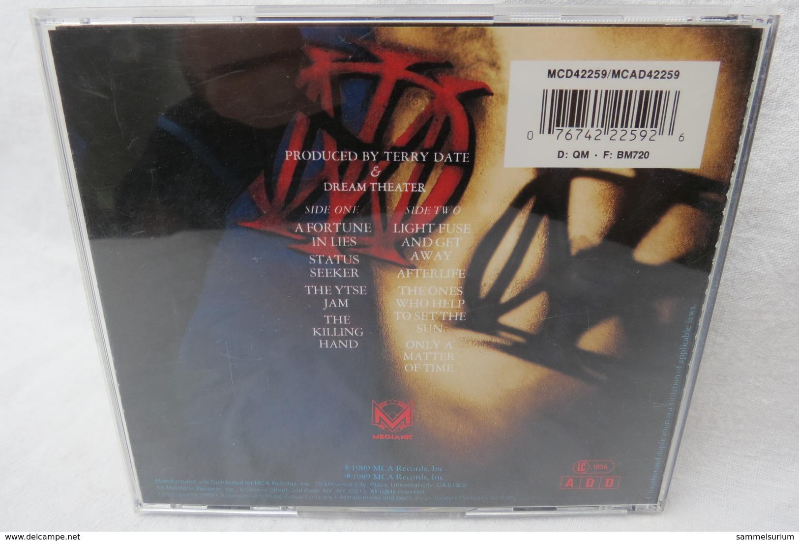 """CD """"Dream Theater"""" When Dream And Day Unite (von 1989) - Hard Rock & Metal"""
