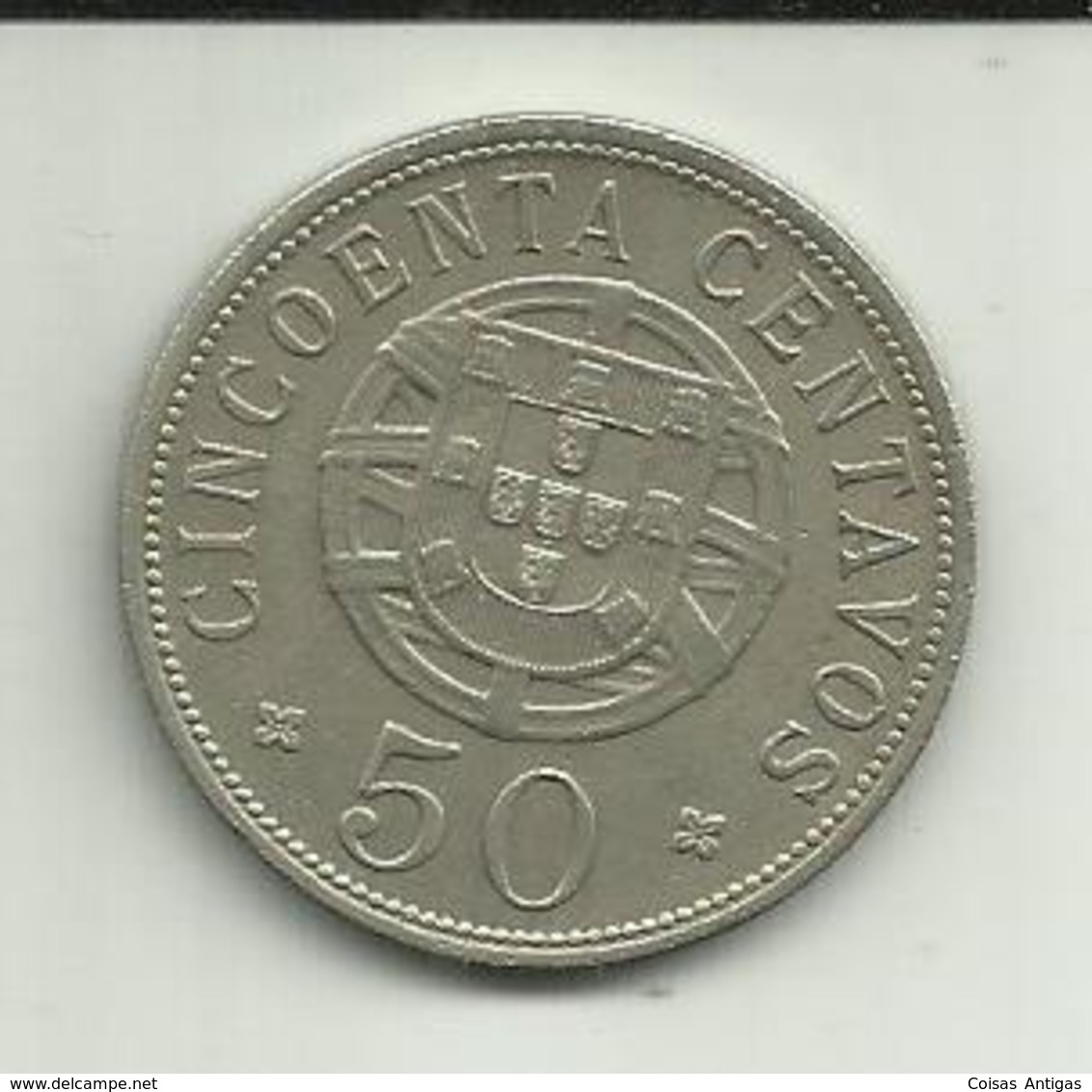 50 Centavos 1928 Angola - Angola