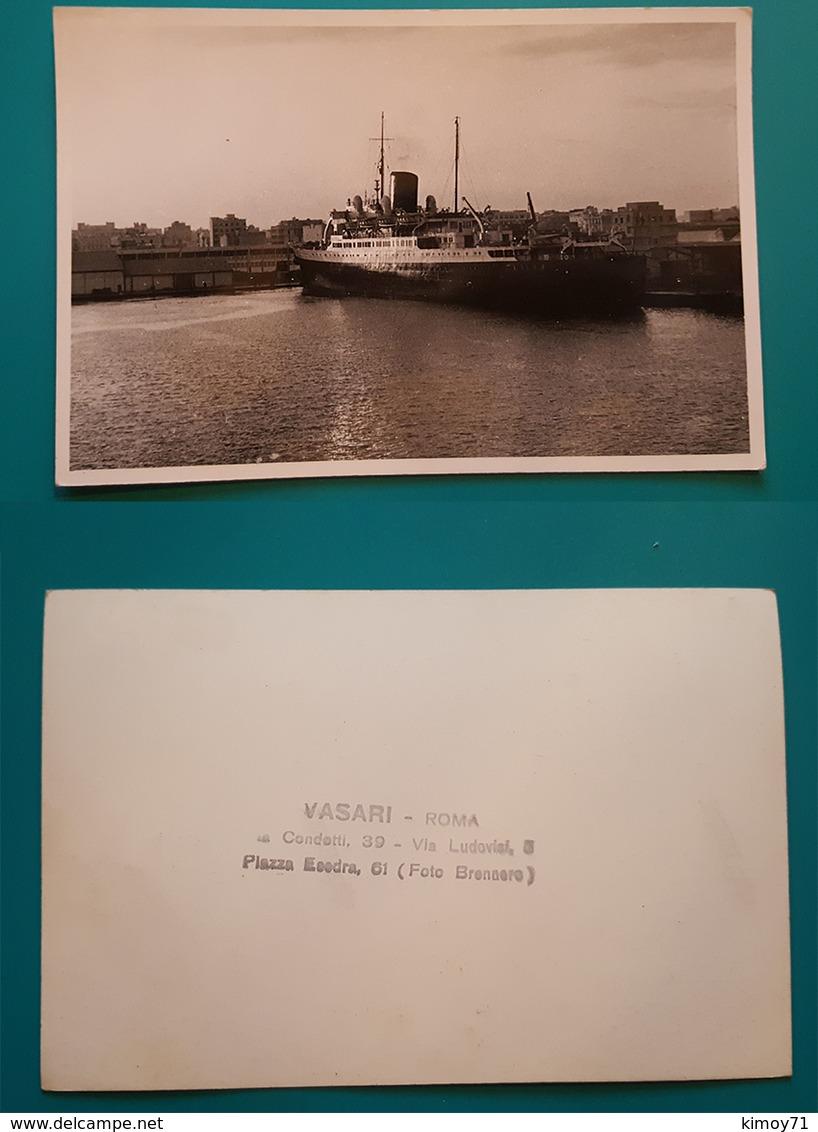 Foto Nave. Fotografo Vasari - Roma - Barche
