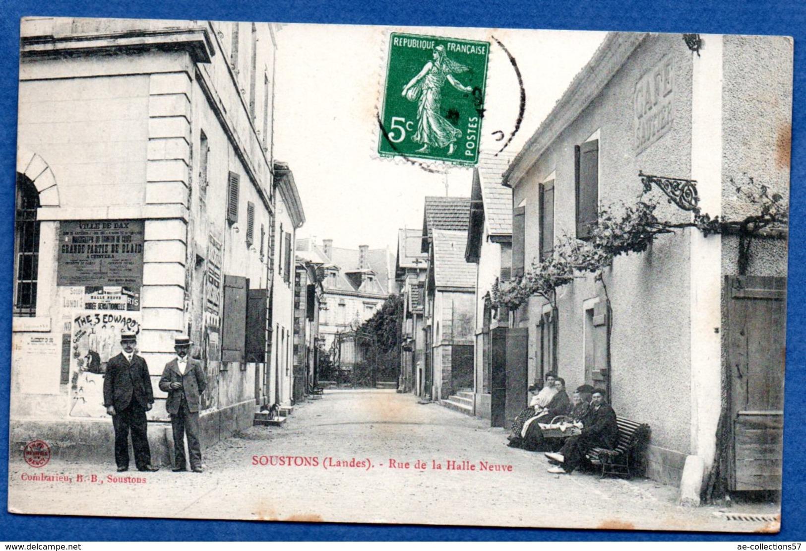Souston  -  Rue De La Halle Neuve - Soustons
