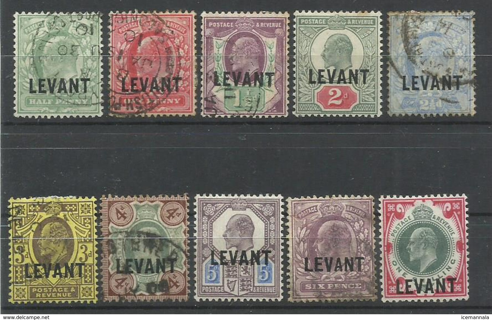 LEVANTE YVERT  12/21 - Emisiones Generales