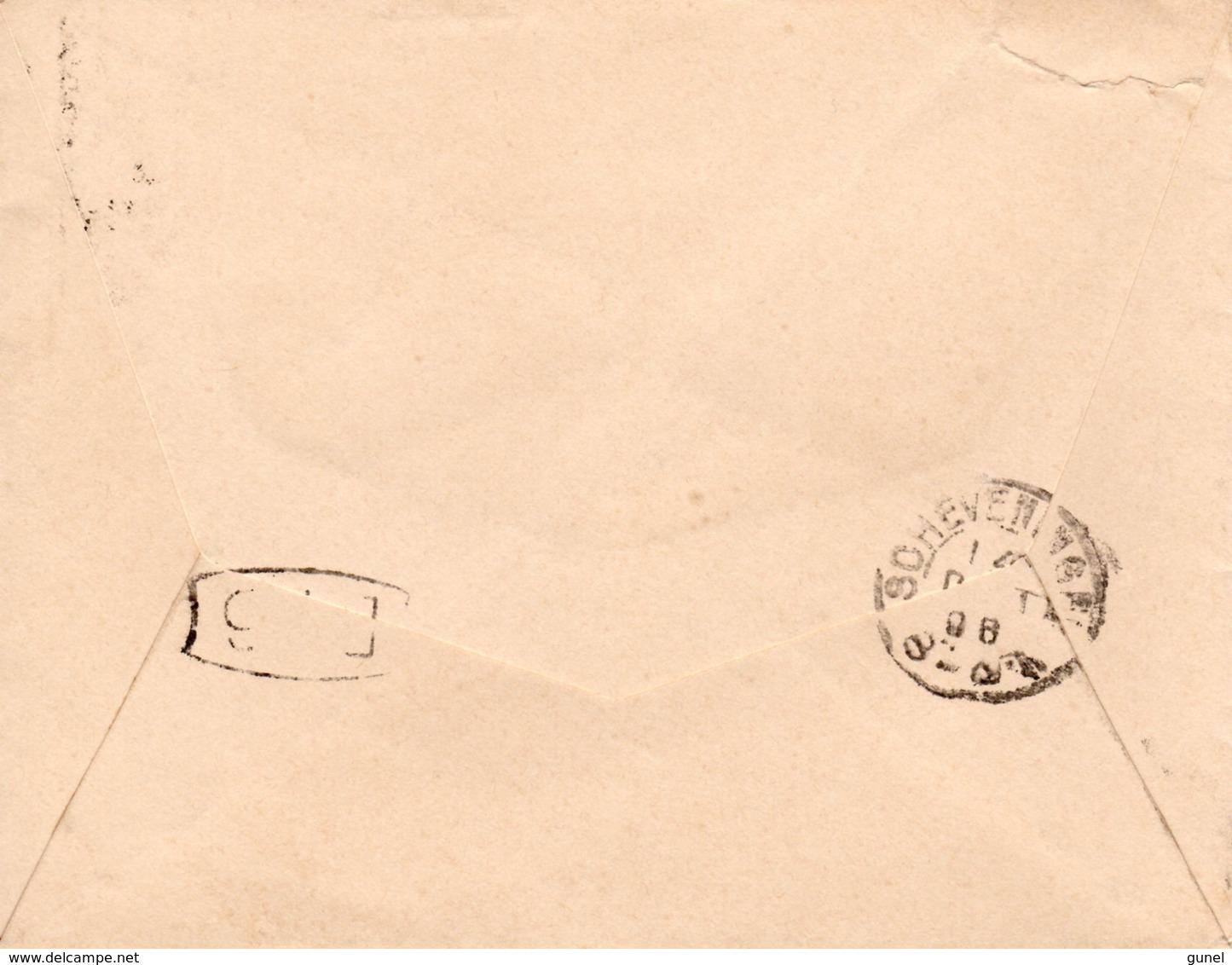 13 OCT 96 Drukwerk Met Kleinrond WISSEKERKE Naar Scheveningen Met NVPH31 - Periode 1891-1948 (Wilhelmina)