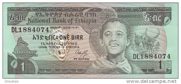 ETHIOPIA P. 36 1 B 1987 UNC - Ethiopie