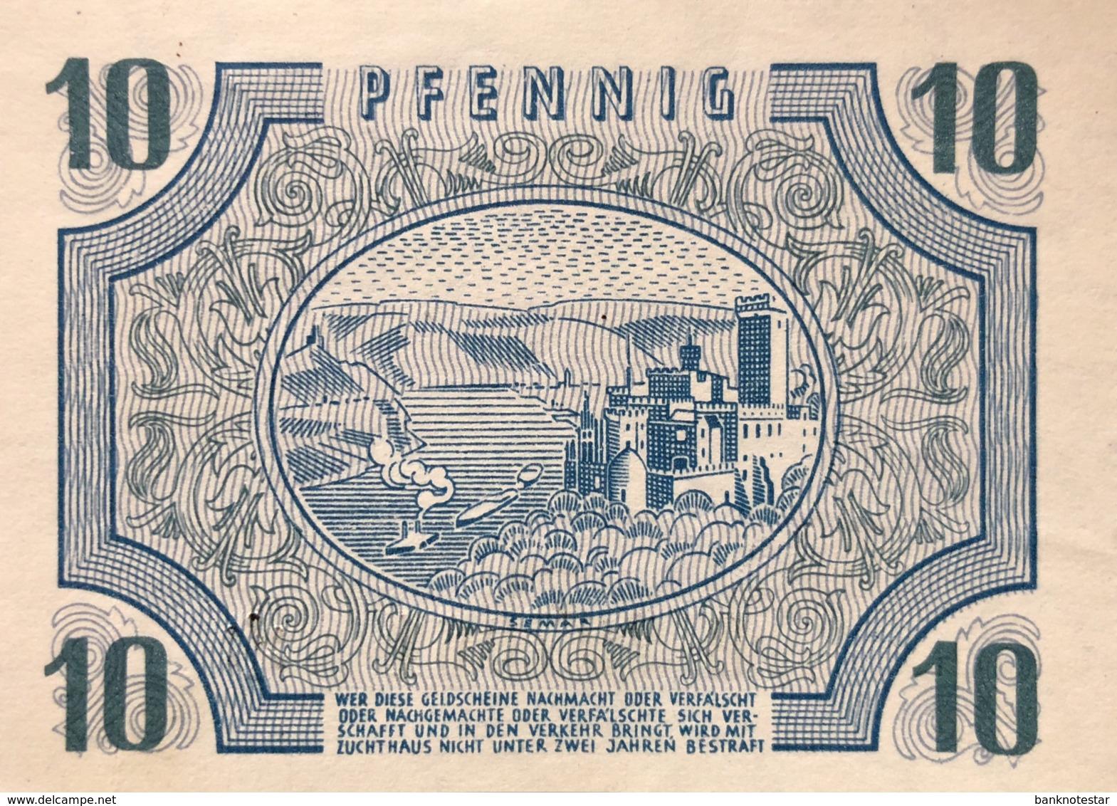 West Germany 10 Pfennig 1947 UNC, Ro.212/FBZ-5 - [ 5] 1945-1949 : Allies Occupation