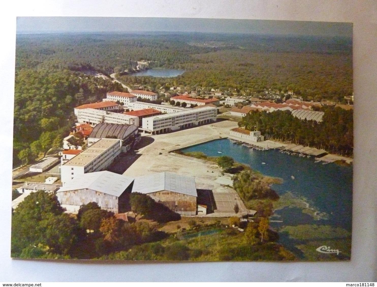 Centre De Formation Maritime D'Hourtin - Vue Générale Aérienne Du C.F.M. (Darse Et Lagune) - Autres Communes