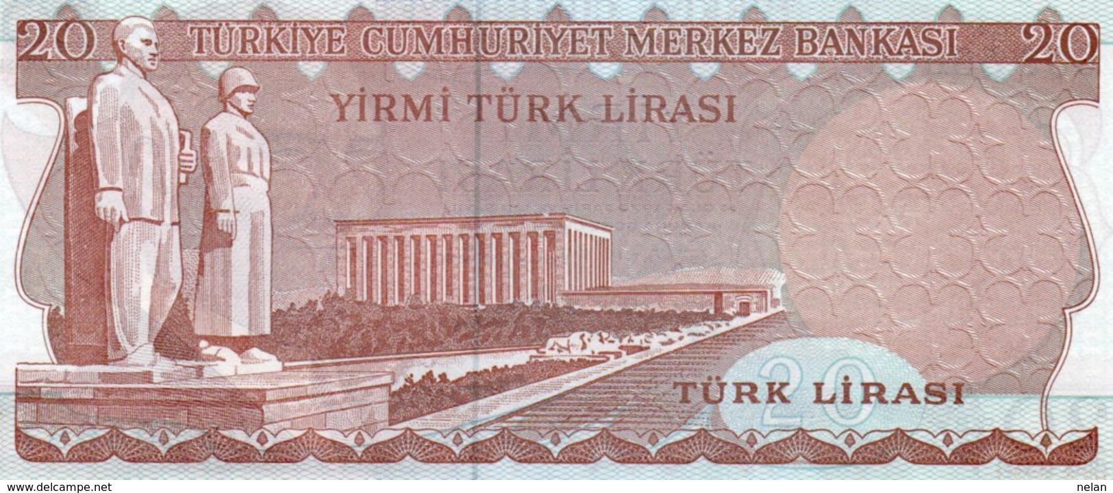 LOTTO 3 BANCONOTE TURKEY- 1 MILL,20,5 LIRA -UNC,XF VG - Turchia